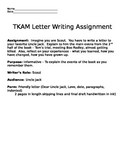 To Kill a Mockingbird - Letter Writing Activity
