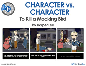 what are the conflicts in to kill a mockingbird