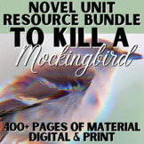 To Kill a Mockingbird Complete Teaching Unit PACKET   DISTANCE LEARNING