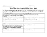 To Kill a Mockingbird Literature Map