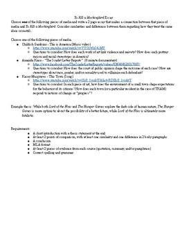media and culture essay