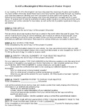 To Kill a Mockingbird Mini-Research Poster Project