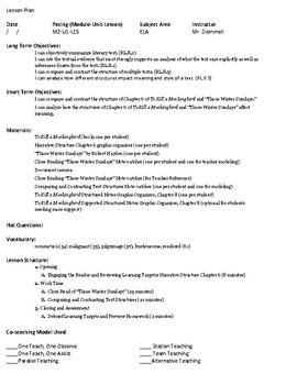 To Kill a Mockingbird Module 2 Unit 1 Lesson 15