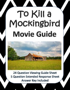 To Kill a Mockingbird Movie Guide (1962) - New Product!