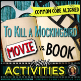 To Kill a Mockingbird Movie vs. Book Comparisons Editable
