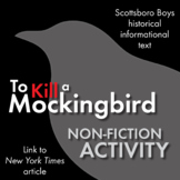 To Kill a Mockingbird, Non-Fiction, Link Scottsboro Boys to Tom Robinson Trial