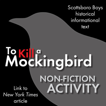 To Kill a Mockingbird, Non-Fiction, Link Scottsboro Boys t