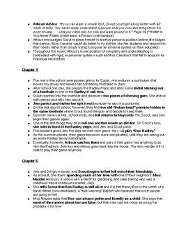 To Kill a Mockingbird Notes (Full Book)