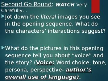 To Kill a Mockingbird Opening Movie Scenes Activity