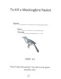 To Kill a Mockingbird Packet