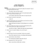 To Kill a Mockingbird Part One Bundle: Study Guide, Test,