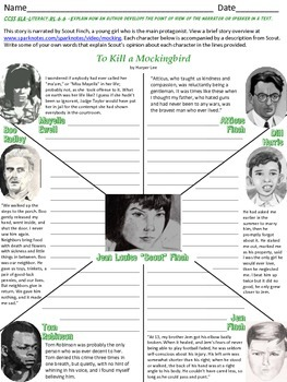 To Kill a Mockingbird - Point of View