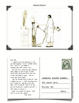 """To Kill a Mockingbird"" Postcard Character Writing Activity"