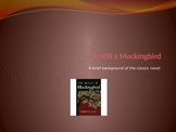 To Kill a Mockingbird Pre-Reading PowerPoint Presentation