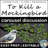 To Kill a Mockingbird Pre-reading Carousel Discussion