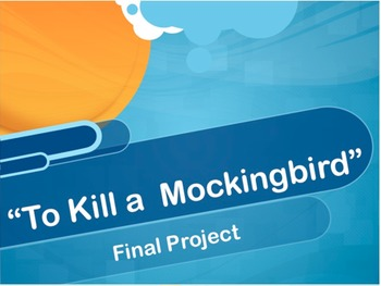 To Kill a Mockingbird Project Ideas