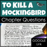 To Kill a Mockingbird Chapter Questions with Google Links