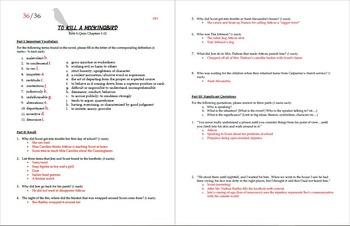 To Kill a Mockingbird Quiz