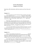 To Kill a Mockingbird Quiz Chapters 13-16