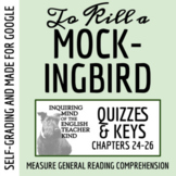 To Kill a Mockingbird Quiz (Chapters 24-26)