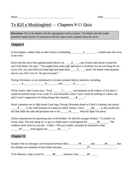 chapter 9 to kill a mockingbird questions and answers