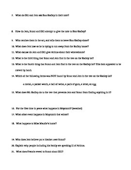 To Kill a Mockingbird Quizzes for Chapters 1-14