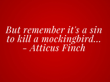 To Kill a Mockingbird Quote Posters
