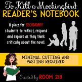 To Kill a Mockingbird Reader's Notebook