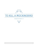 To Kill a Mockingbird Reading Check Ch. 1-3