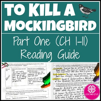 To Kill a Mockingbird Reading Guide for Part One and also