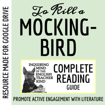 To Kill a Mockingbird Guide with Answer Key - Covers the Entire Novel