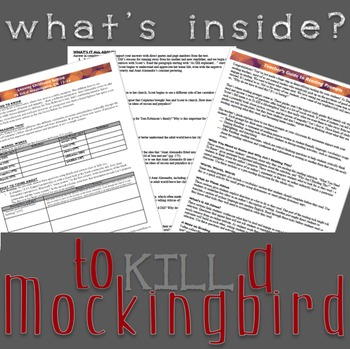 To Kill a Mockingbird Reading Prompts