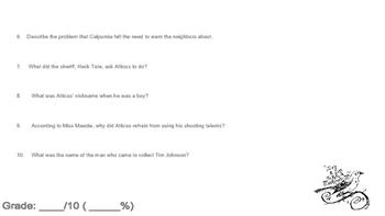 To Kill a Mockingbird Reading Quiz Chapter Ten