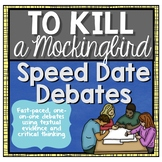 To Kill a Mockingbird Review Speed Date Debates