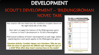 To Kill a Mockingbird - Scout's Development!