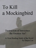 To Kill a Mockingbird, Six Reading Quizzes & Answer Keys