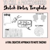 To Kill a Mockingbird Sketch Notes