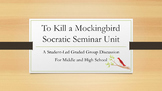 To Kill a Mockingbird Socratic Seminar for High School English
