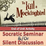 To Kill a Mockingbird - Socratic Seminar and/or Silent Discussion