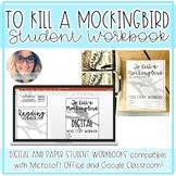 To Kill a Mockingbird Student Workbooks