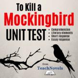 To Kill a Mockingbird Test: Make Your Perfect Unit Exam th