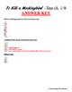 To Kill a Mockingbird Test ch. 1-9 & Answer Key