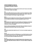 To Kill a Mockingbird Text Dependent Questions