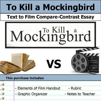 To Kill a Mockingbird - Text to Film Essay Bundle
