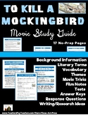 To Kill a Mockingbird: Study Guide for the Film