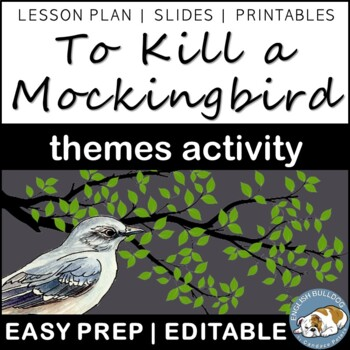 To Kill a Mockingbird Themes Textual Analysis Activity