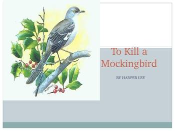 To Kill a Mockingbird Themes and Analysis 41 slide PP