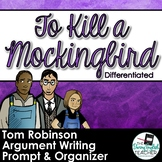 To Kill a Mockingbird Trial Argumentative Differentiated W
