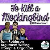 To Kill a Mockingbird Trial Argumentative Differentiated W