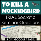 To Kill a Mockingbird Trial Discussion w/ Google Link for